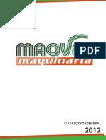 Catalogo Maquinaria