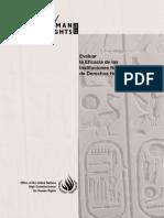 Evaluar La Eficacia de Las Instituciones Nacionales de Derechos Humanos