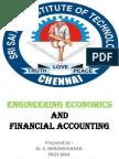 MANAGERIAL ECONOMICS INTRODUCTION -  B.E,(CS FINAL & IT 3RD YEAR) Dr.K.BARANIDHARAN, SRI SAIRAM INSTITUTE OF TECHNOLOGY, CHENNAI