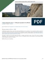 Como Gerenciar Riscos – EAR Para Projetos de Software « Gestão de Projetos Na Prática