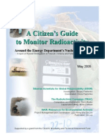 A Citizen's Guide to Monitor Radioactivity to Monitor Radioactivity Around the Energy Department's Nuclear Facilities - A report on Russian investigations at Paducah, Kentucky and Portsmouth, Ohio in 2003