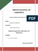 INGRESOS PARAFISCALES (1)