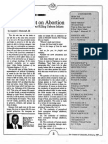 1987 Issue 2 - Gods Verdict on Abortion - Counsel of Chalcedon
