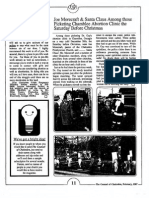1987 Issue 2 - Joe Morecraft and Santa Claus Picket Chamblee Abortion Clinic - Counsel of Chalcedon