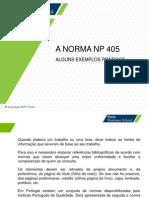 Tutorial Norma Portuguesa NP405 Novo