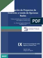 Valuacion de Proyectos de Inversión a Traves de Opciones Reales