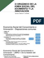 Código Orgánico de La Economía Social Del Conocimiento