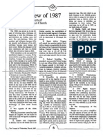 1987 Issue 3 - An Overview of 1987 - Counsel of Chalcedon