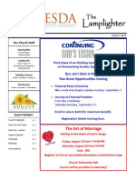 August 2014 Lamplighter