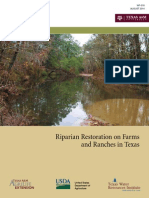 Riparian Restoration on Farms and Ranches in Texas