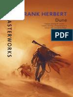 Dune by Frank Herbert  Extract