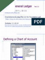 OracleGeneralLedgerRel.11i for foundationII.ppt