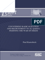 Countering Radicalization and Recruitment to Al-Qaeda
