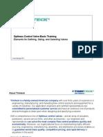 Trimteck Valve Training Module 1 - Basic Control Valve Training