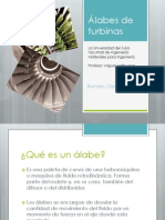 Álabes de Turbinas - Germain Ramirez