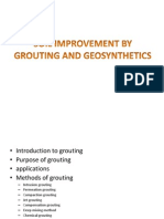 Soil Improvement by Grouting