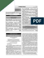 Decreto de urgencia 002-2014