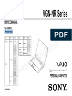 Vaio Vgn-nr Series