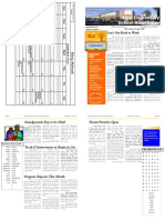 sample newsletter 11x17 bookfold