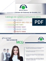 Catálogo MCG 2014 1 0