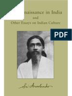 20. The Renaissance In India by Shri Aurobindo