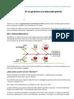 La Certificacin ISO No Garantiza Una Adecuada Gestion