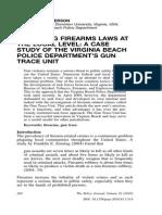 gun trace unit