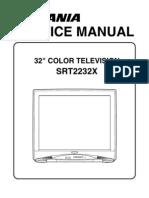 Sylvania Srt2232x Service Manual