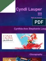 Cyndi Lauper !!!