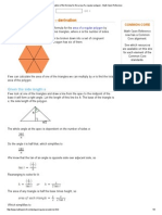 Derivation of the Formula for the Area of a Regular Polygon - Math Open Reference