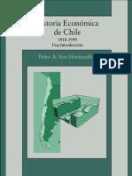 Pedro A. Vera Hormazbal - Historia economica de Chile 1918-1939