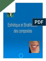 Esthétique Et Stratification Des Composites
