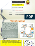 Ventilacion de Minas- 14. Polvo en Mina