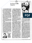 1988 Issue 3 - The Tax Reform Act of 1986 From a Christian Perspective - Counsel of Chalcedon