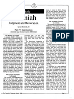 1988 Issue 3 - Jeremiah, Judgment and Restoration, Part IV - Counsel of Chalcedon