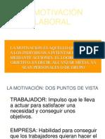La Motivación Laboralx