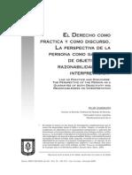 Derecho Como Práctica y Discurso-perspectiva de Persona Como Garantía