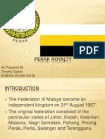Perak Royalty