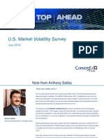ConvergEx U S Market Volatility Survey