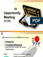 business opportunity meeting - presentation