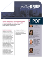 Teacher Performance Assessment in the Age of Accountability