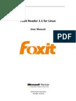 FoxitReader1.1ForLinux Manual