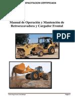 Manual de Operación y Mantención de Retroexcavadora y Cargador Frontal_revisado