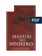 Manual Do Ministro - Editora Vida