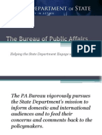 Bureau of Public Affairs