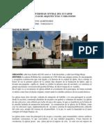 Informe Centro Historico QUITO