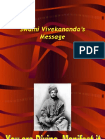 Swami Vivekananda's Message
