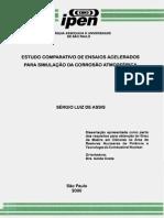 Ensaios de Corrosão - Dissertação