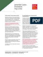 DPA Fact Sheet 911 Good Samaritan Laws July2014