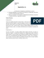 Reporte No. 2.1 (Techos Indutriales)